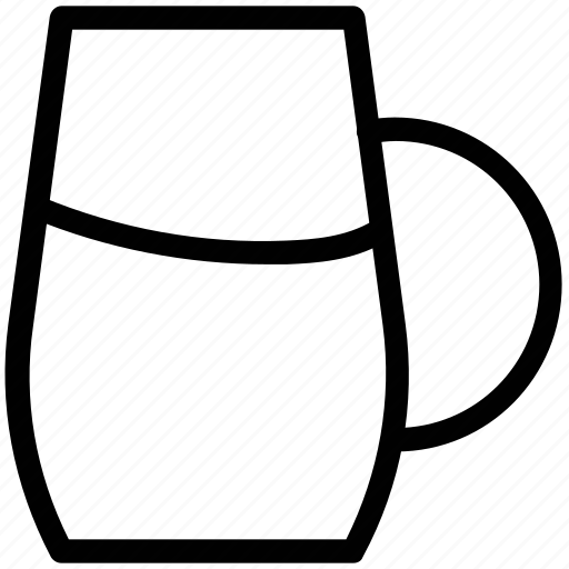 beaker, jug, jug of water, juice jug, milk jug, pitcher icon