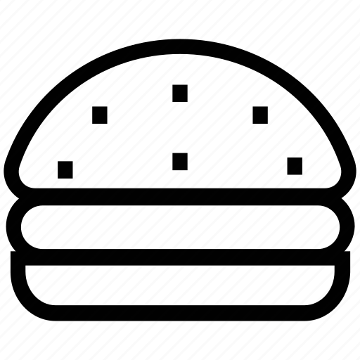 chicken burger, fast food, food, hamburger, junk food, meat burger icon