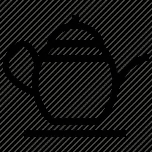 coffee box, kettle, tea box, tea kettle, teapot icon