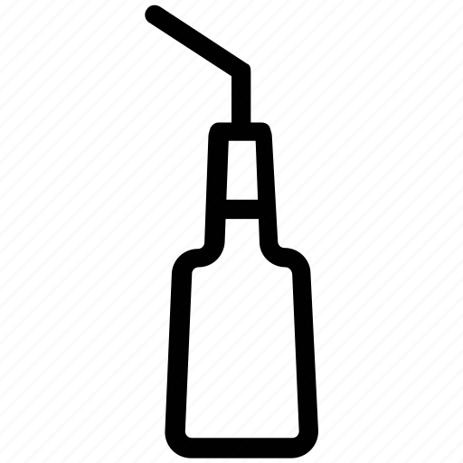 bottle, bottle with straw, soda, soda bottle, water bottle icon