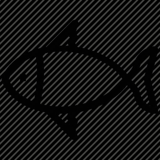 fish, food, healthy food, seafood icon