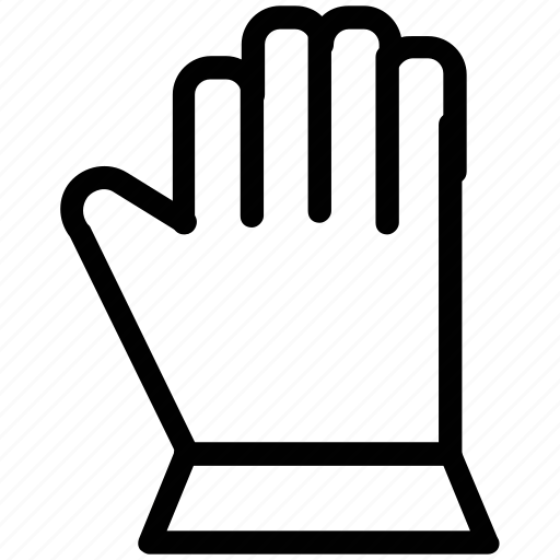cooking gauntlet, glove, hand, oven gloves, oven mitt icon