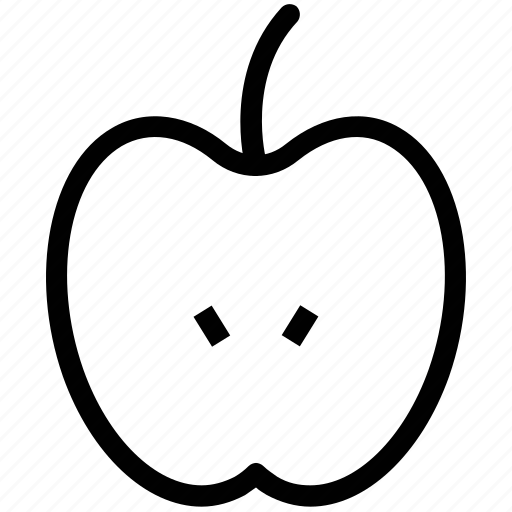 apple, fresh food, fresh fruit, fruit icon