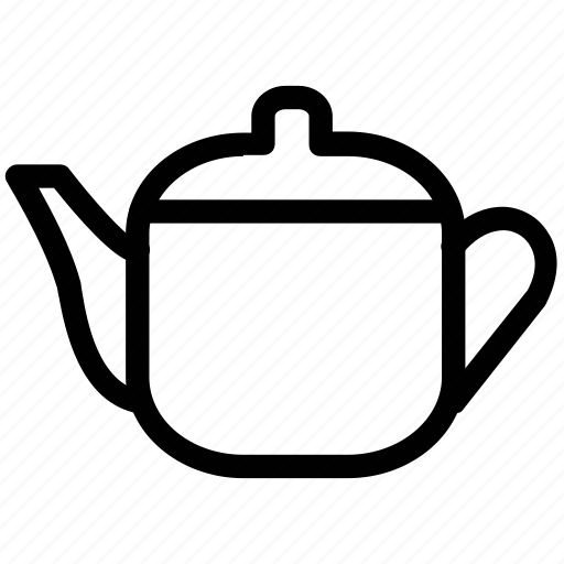 coffee pot, kettle, tea pot, teakettle, water boiler icon