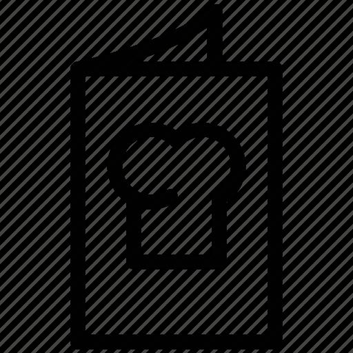 carte du jour, cuisine menu, food menu, menu, menu book, menu card, restaurant icon
