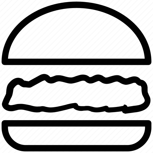 burger, fast food, food, hamburger, junk food, lunch icon