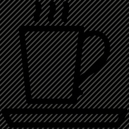 coffee, cup of coffee, cup of tea, hot coffee, hot tea, tea icon