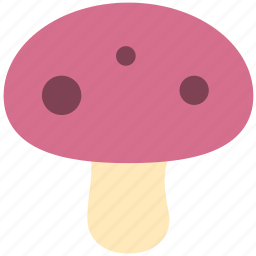 dessert, food, gastronomy, mushroom icon