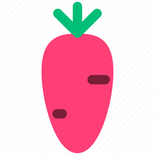 carrot, food, green, produce, vegetable, vegetables icon