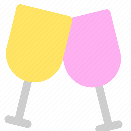 celebration, champagne, cheers, party icon