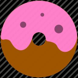 bread, donuts, food icon