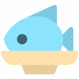 cooking, fish, food, meat icon