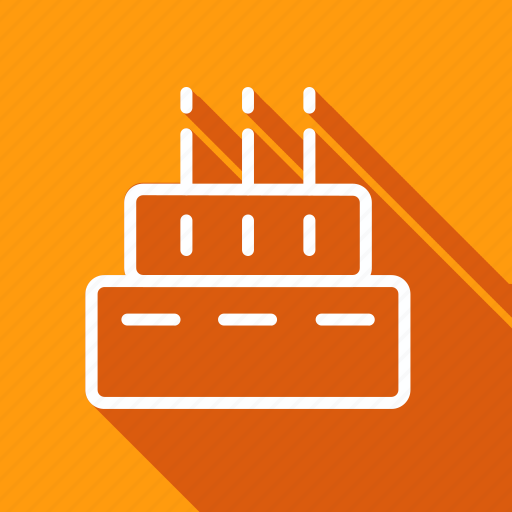 appliance, birthday cake, cake, cooking, food, gastronomy, utensils icon