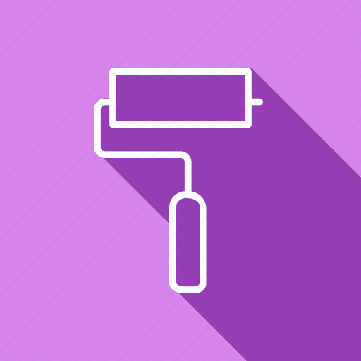 appliance, cooking, food, gastronomy, kitchen, paint roller, utensils icon