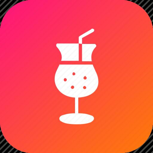 Alchohol, beverage, cocktail, drink, glass, shake, wine icon - Download on Iconfinder