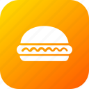 burger, double, fastfood, food, hamburger, kitchen, meal icon