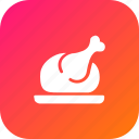chicken, chistmas, dinner, food, kitchen, nonveg, restaurant icon