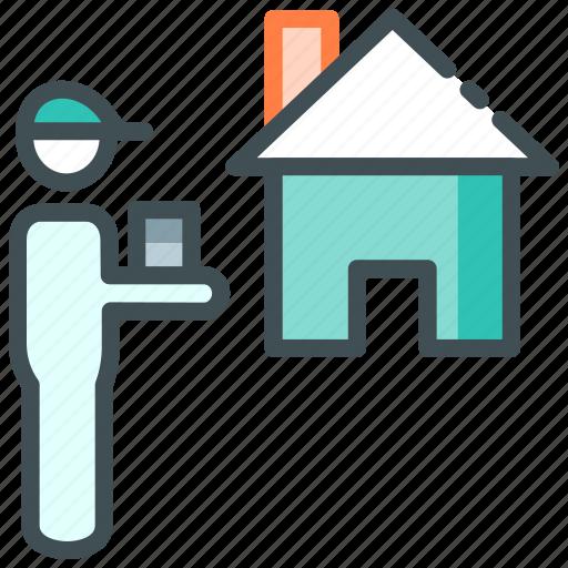 Delivery, home delivery, online food, order food icon - Download on Iconfinder