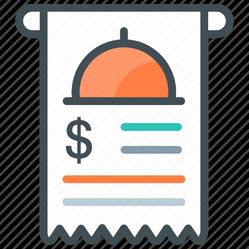 Bill, invoice, online bill, receipt, shopping icon - Download on Iconfinder
