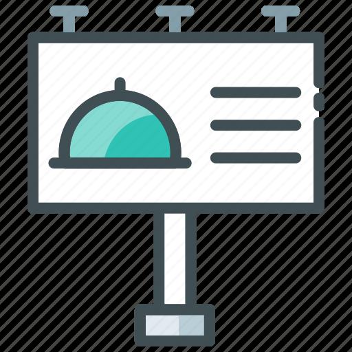 Ad, advertisement, billboard, new shop, online order icon - Download on Iconfinder
