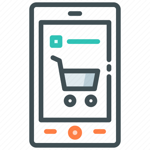 cart, food app, list, menu icon