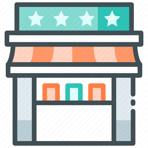 Hotel, rating, restaurant, restaurant rating, review, star icon - Download on Iconfinder