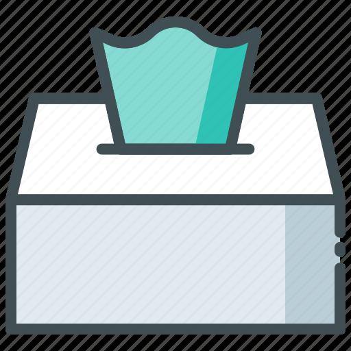 Box, clean, hotel, napkin, tissue icon - Download on Iconfinder