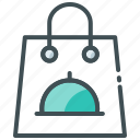 bag, delivery, food delivery, parcel, shopping icon