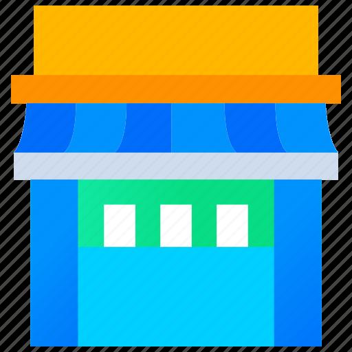 hotel, restaurant, shop, shopping, store icon