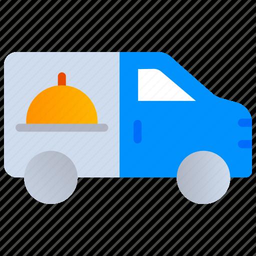 Car delivery, deliver food, delivery truck, online delivery, order food icon - Download on Iconfinder