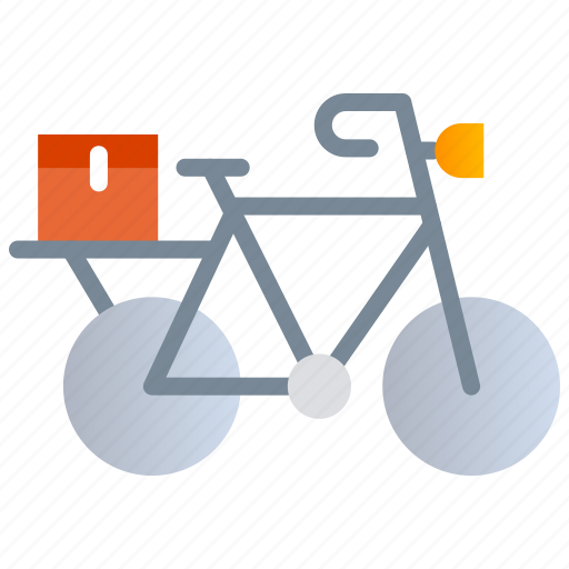 Bicycle delivery, home delivery, online food icon - Download on Iconfinder