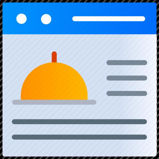Application, food app, food website, online, order food, order meal icon - Download on Iconfinder