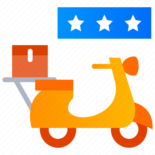 App, delivery rating, food application, review, satisfaction, star icon - Download on Iconfinder