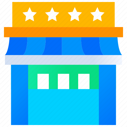 hotel, rating, restaurant, restaurant rating, review, star icon