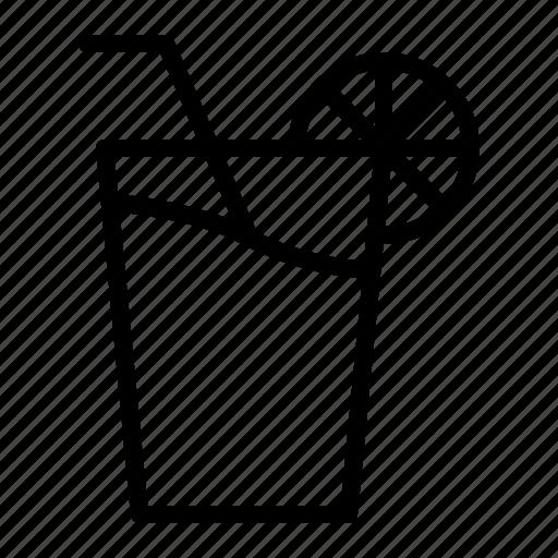 beverage, drink, fresh, glass, juice icon