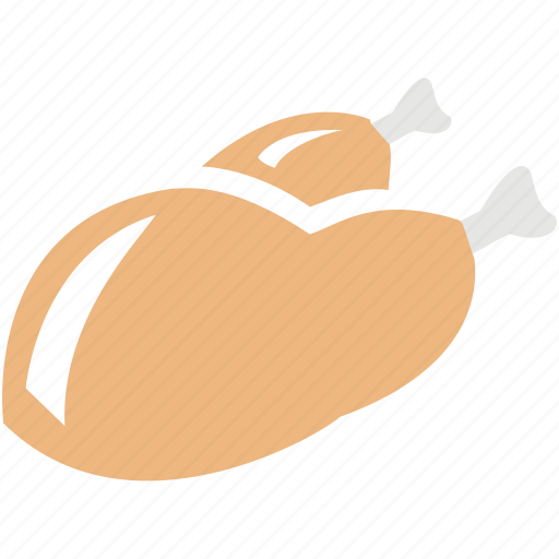 chicken, dinner, eat, food, fried, restaurant icon