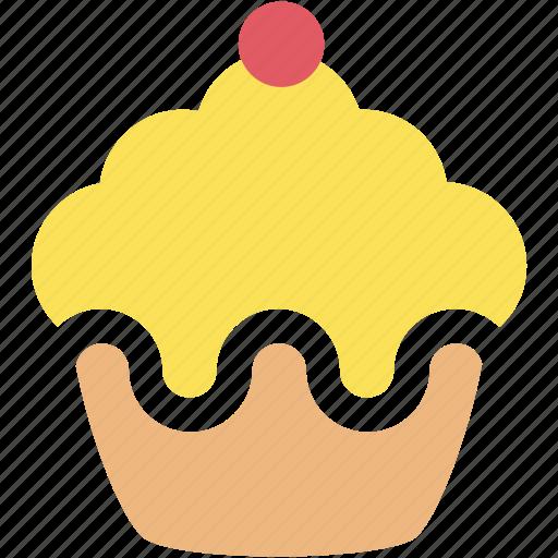 cupcake, dessert, food, pastry, sweet icon