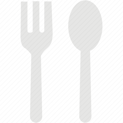 eating, fork, kitchen, restaurant, spoon icon