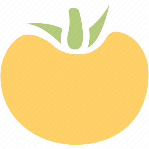 food, fruit, nature, organic, persimmon icon
