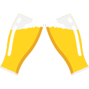 beer, beverages, bottle, drinks, friends, joy, party icon