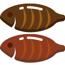 fish, food, fried, fry, non, seafood, veg icon