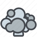 cauliflower, food, healthy, vegetable icon