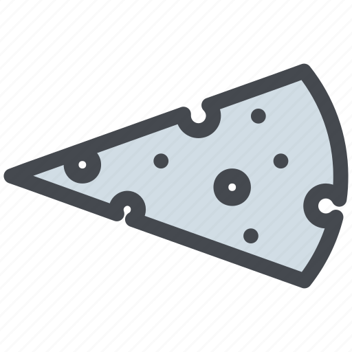 cheese, dairy, food, slice icon