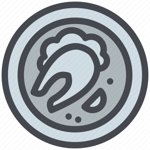 Dish, fish, food, meal, plate, seafood icon - Download on Iconfinder