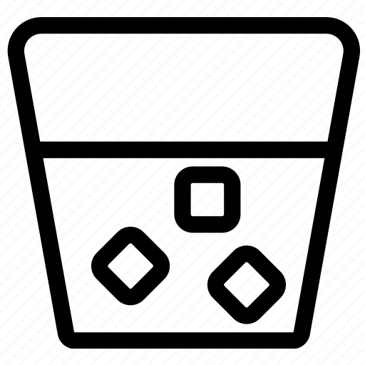 beverages, food, glass, groceries, spirits icon