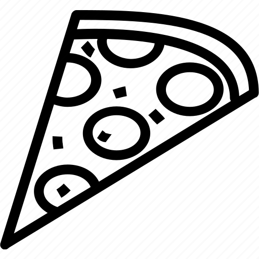 beverages, food, groceries, pizza, slice icon