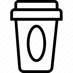 beverages, coffee, cup, food, groceries, togo icon