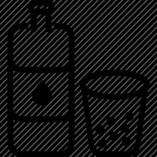 beverages, bottle, cup, food, groceries, juice icon
