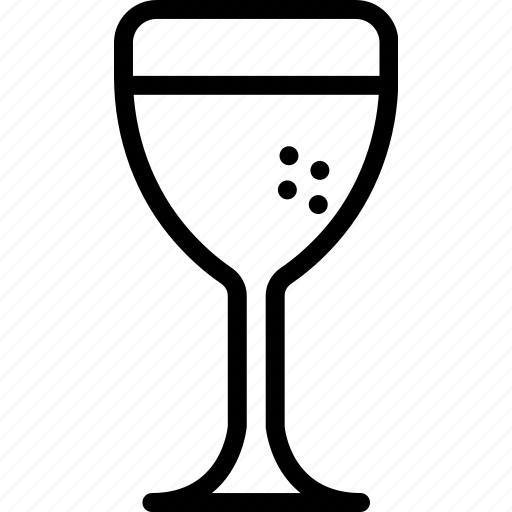 beverages, food, glass, groceries, wine icon