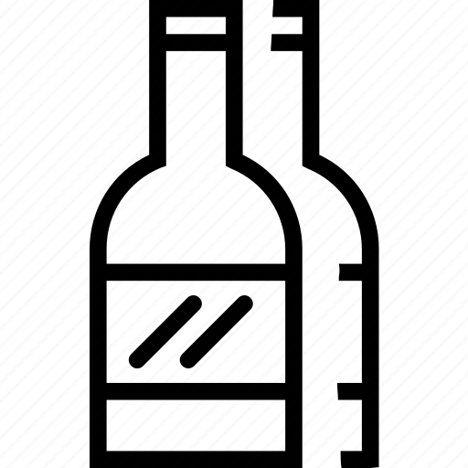 beverages, bottle, food, groceries, wine icon